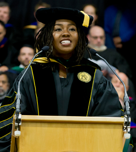 Opal Tometi Awarded Clarkson University Honorary Degree